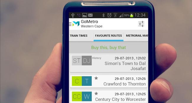 GoMetro-app